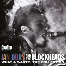 IAN DURY/IAN DURY & THE BLOCKHEADS - WHAT A WASTE: THE COLLECTION * USED - VERY