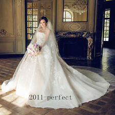 2017 Luxury Beaded Lace Wedding Dresses Bridal Ball Gowns With Detachable Train