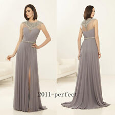 2017 Luxury Beaded Crystal Mother Of The Bride Dresses Formal Prom Evening Gown