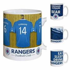 Personalised Rangers FC Football Club Mugs Gifts Souvenirs Merchandise for Fans