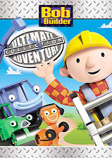 BOB THE BUILDER ULTIMATE ADVENTURE COLLECTION (DVD, 2007, 3-Disc Set) NEW