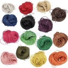 80Meters 1.5mm Jewelry Making Beading Crafting Waxed Cotton Cord Thread