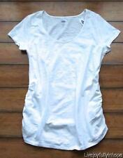 OLD NAVY MATERNITY ~ New! NWT XS L or XL ~ Textured Cotton Scoop-Neck Tee