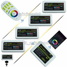 WiFi 2.4G RF Remote IOS Android Cell Phone Milight 4Zone RGB RGBw led Controller