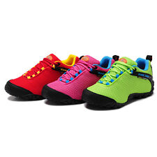 Women Mesh Breathable Outdoor Running Hiking Travel Sneakers Lace up Sport Shoes