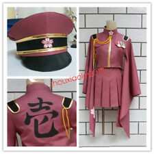 Senbonzakura Vocaloid Hatsune Miku Costume Army Military Uniforms Outfit Cosplay