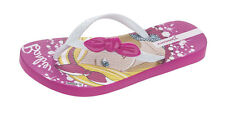 Ipanema Barbie Style Girls Flip Flops / Sandals - Pink and White