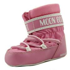 Tecnica Moon Boot Crib Infant  Round Toe Canvas Pink Winter Boot NWOB