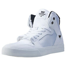 Supra Vaider Mens Trainers White New Shoes