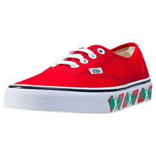 Vans Authentic Strawberry Printsole Womens Trainers Strawberry New Shoes