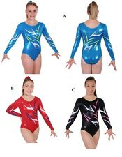 NEW!! Uplifting Gymnastics Competition Leotard by Snowflake Designs