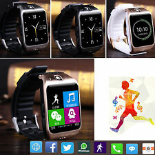 Bluetooth Wrist Smart Watch Touch Screen Phone For Samsung HTC Android LG Phones