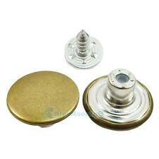 "20 50 X 17mm 5/8"" Look Inside Fine Jean Tack Snap Button Stud Rivet NO-SEW C432"