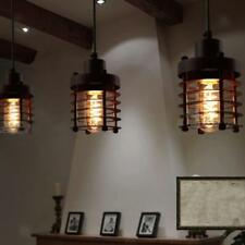 Various Industrial Metal Hanging Ceiling Light Lamp Shade E27 Wired Pendant