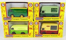 Classix OO Gauge 1:76 Scale NCB Electric Vans 6 Vehicle Variations Available