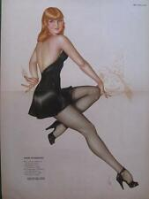 "October 1944 Varga Girl Esquire Gatefold Pinup ""Some Pumpkins!"" Halloween Beauty"
