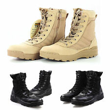 Mens Forced Entry Tactical Deployment Boots Military Duty Work Shoes Combat #