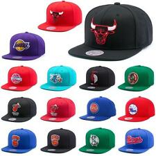 Mitchell & Ness and wool solid Snapback Hat new Cap era basecap