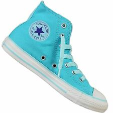 CONVERSE ALL STAR CHUCK TAYLOR SIDE ZIP CHILDRENS SHOES PEACOCK TURQUOISE 30/34