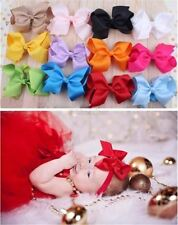 Baby Girl Headbands Toddler Big Bowknot Hair Band Bow Accessories Kids Headdre Q