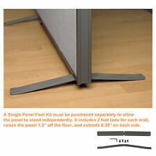 "Office Partition Walls - ""ProSeries Foot Kit"" for Office Divider Panels"