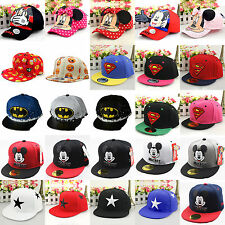 Baby Kids Superhero Hip Pop Baseball Cap Boys Girls Adjustable Summer Sun Hat