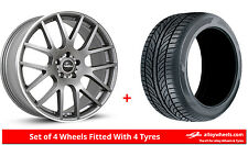 "Alloy Wheels & Tyres 20"" SuperMetal Trident For VW Transporter T5 03-15"