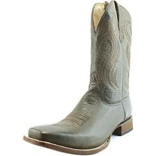 Circle G by Corral L5258 Women  Square Toe Leather Brown Western Boot NWOB