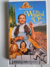 The Wizard of Oz with Judy Garland MGM/UA  VHS #M505204 1939 closed captioned