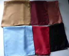 "ASHEAR NEIMAN MARCUS BANDANA POCKET SQUARE SILK SCARF 18"" SQUARE VARIATIONS"