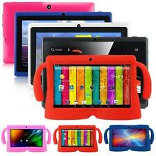 "Android 4.4 7"" 8GB Dual Cameras Quad Core WiFi Kids Child Tablet PC +Bundle Case"
