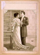 Photo Print Vintage Poster: Theatre Flyer 1800s Blank Unknown 04