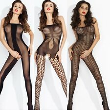 4 New Ladies Catsuit Body Stocking Negligee Full Body Tights Stockings