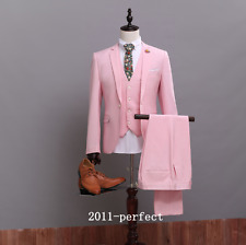 2017 New Formal Men's Groom Suit Wedding Events Party Pageant 3 Piece Tuxedos