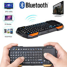 3in1 Wireless Mini Portable Remote Bluetooth Keyboard with Multi-Touch Pad Mouse