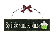 Country new wood sign hanger / SPRINKLE SOME KINDNESS