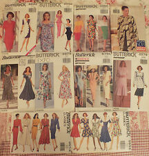 Gorgeous VTG 90s Butterick DRESSES~TOP & SKIRTS~CULOTTES Patterns All 6-8-10 UC