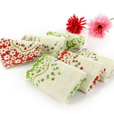 Kids Square Towel Comfort Absorbent Washcloth Soft Floral Handkerchief Baby Care