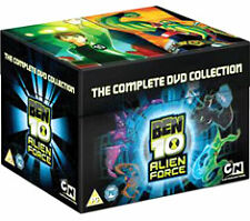 BEN 10 ALIEN FORCE THE COMPLETE COLLECTION 9 DISC DVD BOXSET CARTOON NETWORK