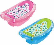 Summer Infant SPARKLE 'N' SPLASH BATH TUB Baby Bathing Newborn To Toddler - New