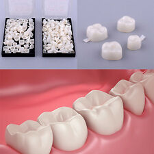 50 Pcs Dentistry Oral Dental Temporary Posterior Teeth Crown Resin Tooth Little