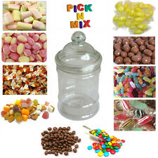1 x FULL JAR OF VICTORIAN RETRO SWEETS WEDDING TABLE FAVOURS SWEETS PICK N MIX