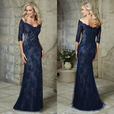2017 Beaded Lace Long Mother Of The Bride Dresses Women Dress Formal Prom Gowns