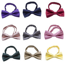 Kids Baby Boys Toddler Infant Bowtie Pre Tied Wedding Party Bow Tie Necktie