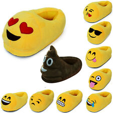 Emoji Expression Minions Unisex Slippers Winter Home Indoor Slippers Plush Shoes