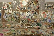 COLLECTION OF 200 WORLD STAMPS NO GB OFF PAPER ALL DIFFERENT MOSTLY USED