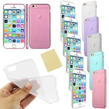 Ultra Thin Transparent Case Cover for iPhone 6 4.7 With Screen Protector