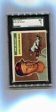 1956 56 Topps 330 Jim Busby SGC 60 5 Excellent EX Vintage Cleveland Indians card