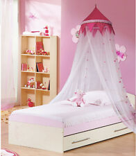 Girl Boy Princess Lace Decorative Dome Netting Canopy Fly Insect Twin Queen Crib