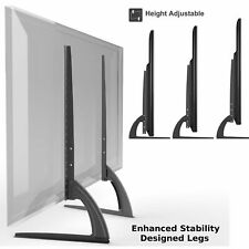 Universal Table Top TV Stand Legs for Panasonic Viera TC-L32C22, Height Adjust